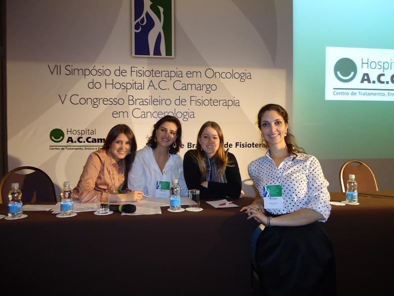 V CONGRESSO BRASILEIRO DE FISIOTERAPIA EM CANCEROLOGIA / VII SIMPOSIO DE FISIOTERAPIA EM ONCOLOGIA DO AC CAMARGO